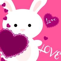 Valentine's Day 2015 Bunny